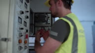 Checking electrical grid video