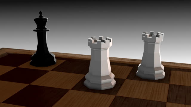 Checkmate-two Rook video