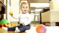 Cheerful Baby Girl video