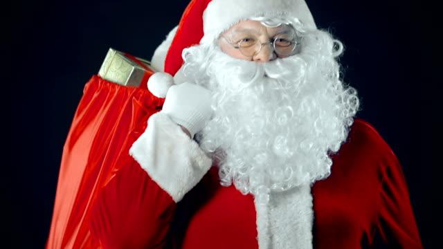 Cheerful Santa video