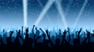 Cheering Crowd video