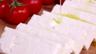 Cheese and olive oil video