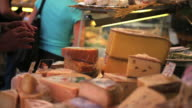 Cheese Offered At The Open Market video