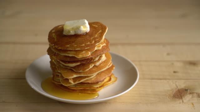 cheese pancake with honey video