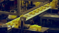 Cheese Production Line - Weigh & Trim Station video