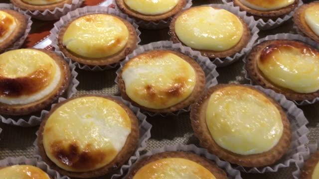 Cheese tart lava in Bangkok , Thailand video