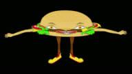 Cheeseburger-Transparent/Alpha video