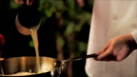 Chef Cooks with Broth video