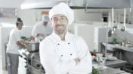 Chef In Kitchen video