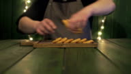 Chef makes nuggets set video