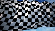 Chequered flag video