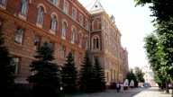 Chernivtsi regional state administration. Perspective view. video