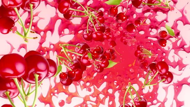 Cherry Background video