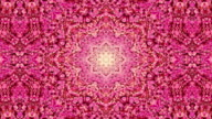 Cherry blossom flowers in spring kaleidoscope video