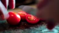 Cherry tomatoes video