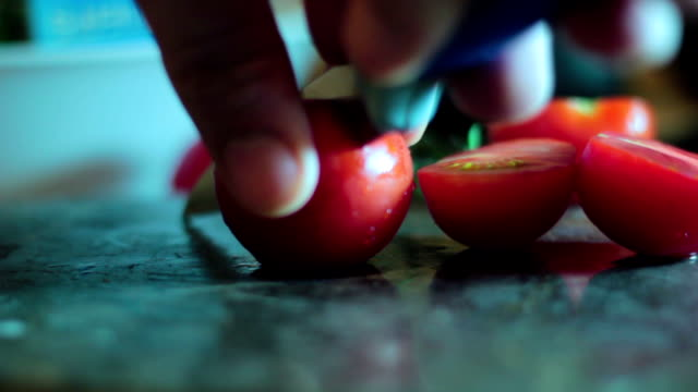 Cherry tomatoes video