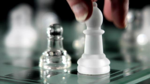 Chess Dolly In Medium Shot video