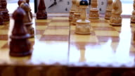 Chess end of game time's up video