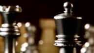 Chess, king queen rook video