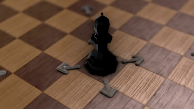 Chess movement - The Bishop video