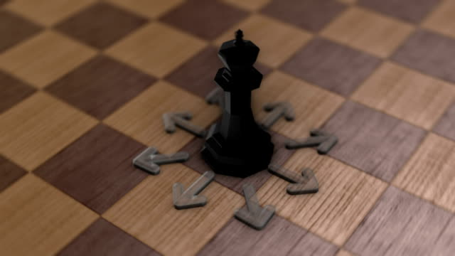 Chess movement - The King video