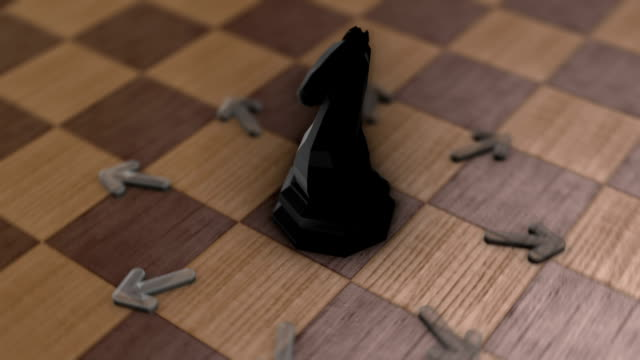 Chess movement - The Knight video