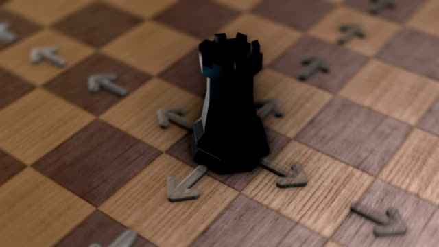 Chess movement - The Rook video