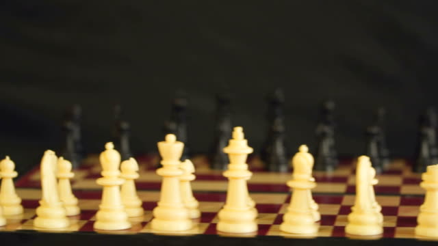 Chess on a chessboard video