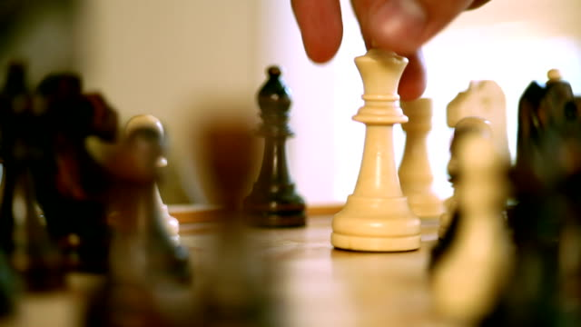 Chess: Queen takes castle video