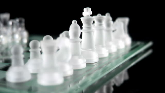 Chess Spin Left Wide Shot video