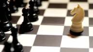 Chess white knight video