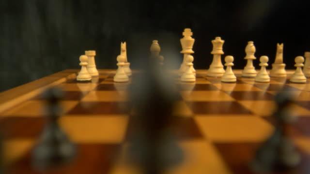 chessboard setup pan video