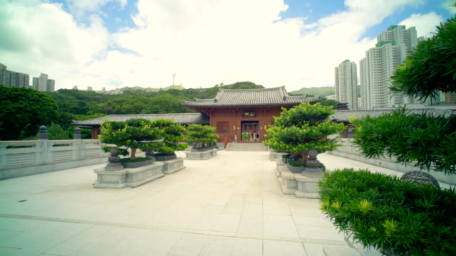 Chi Lin Buddhist Temple Hong Kong video