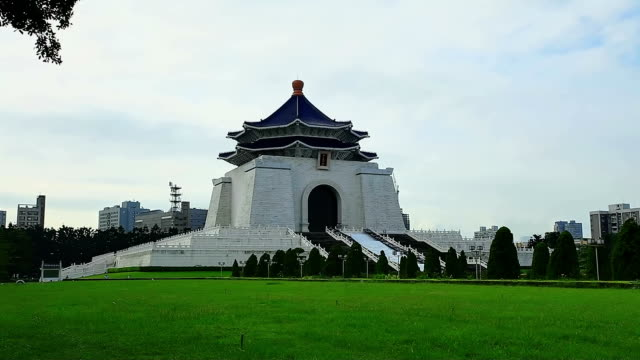 Chiang kai shek memorial hall video
