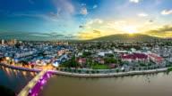 Chiang Mai cityscape video