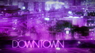 Chic DOWNTOWN time lapse video