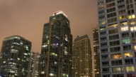 Chicago apartment buildings night to day timelapse video