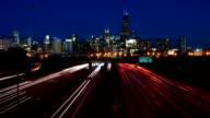 Chicago Highway Skyline video