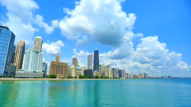 Chicago, IL Day Time Lapse video