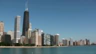 Chicago Lakefront Skyline (HD 1080i) video