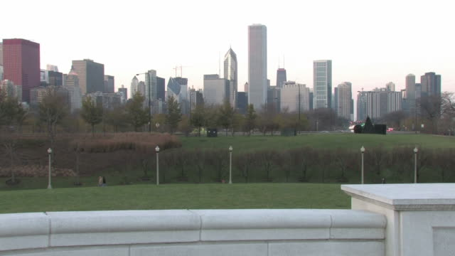 Chicago overcast skyline - HD 1080/30F video