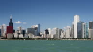 Chicago Skyline from Water video