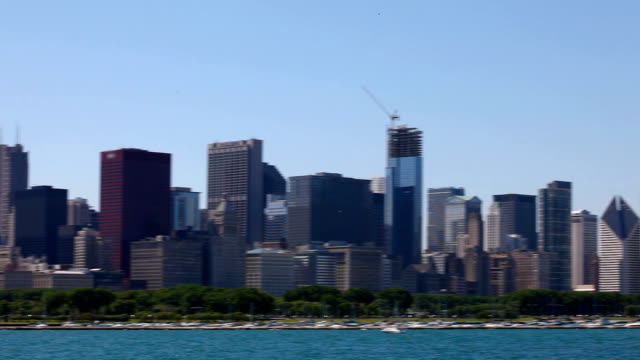 Chicago Skyline HD 1080p video
