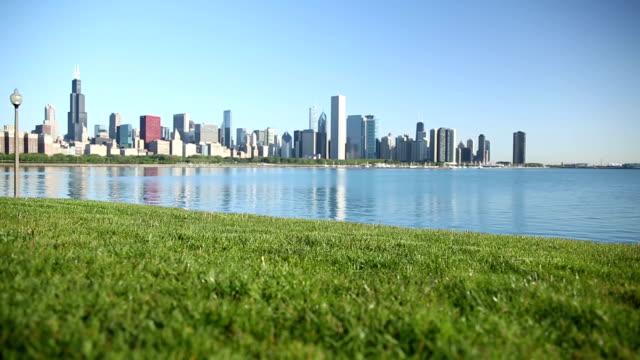 Chicago Skyline - Sunny Summer video
