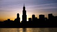 Chicago Skyline Sunset on 2014.06.03 video