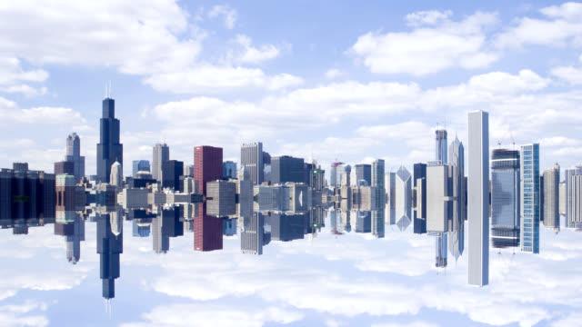 Chicago Skyline video