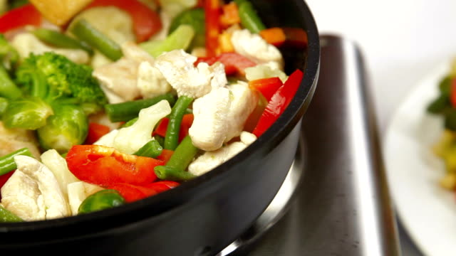 Chicken and Vegetable Stir Fry video