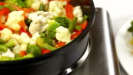 DOLLY: Chicken and Vegetable Stir Fry video