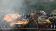 Chicken barbecue video