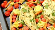 Chicken Breasts with garlic and rosemary video